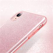 Handy Case für Apple iPhone XR Hülle Glitzer Cover TPU Schutzhülle