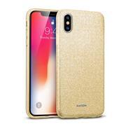 Handy Case für Apple iPhone XS Max Hülle Glitzer Cover TPU Schutzhülle