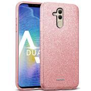 Glitzer Silikon Schutz Hülle für Huawei Mate 20 Lite Handy Case