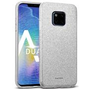 Glitzer Silikon Schutz Hülle für Huawei Mate 20 Pro Handy Case