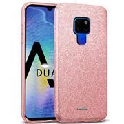 Glitzer Silikon Schutz Hülle für Huawei Mate 20 Handy Case