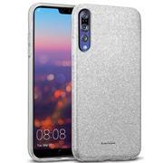 Glitzer Silikon Schutz Hülle für Huawei P20 Pro Handy Case