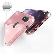 Glitzer Silikon Schutz Hülle für Huawei P30 Lite Handy Case