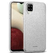 Handy Case für Samsung Galaxy A12 / M12 Hülle Glitzer Cover TPU Schutzhülle