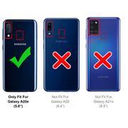Handy Case für Samsung Galaxy A20e Hülle Glitzer Cover TPU Schutzhülle