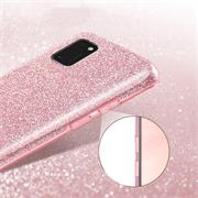 Handy Case für Samsung Galaxy A41 Hülle Glitzer Cover TPU Schutzhülle