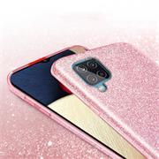 Handy Case für Samsung Galaxy A42 5G Hülle Glitzer Cover TPU Schutzhülle
