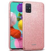 Handy Case für Samsung Galaxy A51 Hülle Glitzer Cover TPU Schutzhülle
