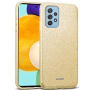 Handy Case für Samsung Galaxy A52 Hülle 4G / 5G Glitzer Cover TPU Schutzhülle