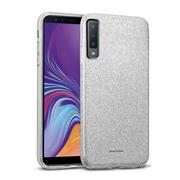 Handy Case für Samsung Galaxy A7 2018 Hülle Glitzer Cover TPU Schutzhülle