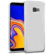 Glitzer Silikon Schutz Hülle für Samsung Galaxy J4 Plus Handy Case
