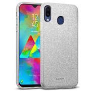 Handy Case für Samsung Galaxy M20 Hülle Glitzer Cover TPU Schutzhülle
