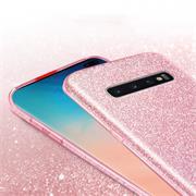 Handy Case für Samsung Galaxy S10 Plus Hülle Glitzer Cover TPU Schutzhülle