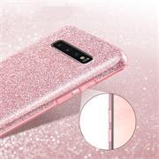 Glitzer Silikon Schutz Hülle für Samsung Galaxy S10 Handy Case