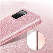 Handy Case für Samsung Galaxy S20 FE Hülle Glitzer Cover TPU Schutzhülle
