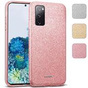 Handy Case für Samsung Galaxy S20 Hülle Glitzer Cover TPU Schutzhülle