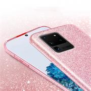 Handy Case für Samsung Galaxy S20 Ultra Hülle Glitzer Cover TPU Schutzhülle