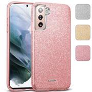 Handy Case für Samsung Galaxy S21 Plus Hülle Glitzer Cover TPU Schutzhülle