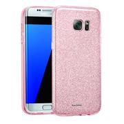 Handy Case für Samsung Galaxy S7 Edge Hülle Glitzer Cover TPU Schutzhülle