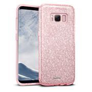 Handy Case für Samsung Galaxy S8 Plus Hülle Glitzer Cover TPU Schutzhülle