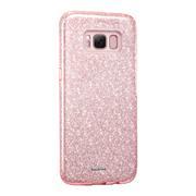 Handy Hülle Samsung Galaxy S8 Schutz Hülle Silikon Cover Glitzer Case Slim Tasche