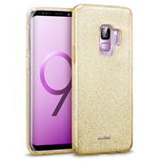 Handy Case für Samsung Galaxy S9 Hülle Glitzer Cover TPU Schutzhülle