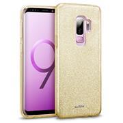 Handy Case für Samsung Galaxy S9 Plus Hülle Glitzer Cover TPU Schutzhülle