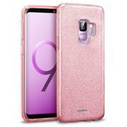 Glitzer Glitzer Silikon Schutz Hülle für Samsung Galaxy A6 Handy Case