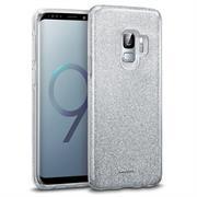 Glitzer Glitzer Silikon Schutz Hülle für Samsung Galaxy S9 Handy Case