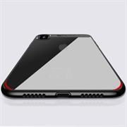 Bumper Hülle für Apple iPhone XS Max Handy Case Acryl Backcover