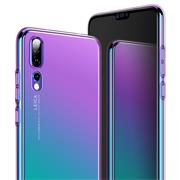 Farbwechsel Hülle für Huawei Y7 2018 Handy Case Slim Cover
