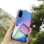 Farbwechsel Hülle für Samsung Galaxy S9 Schutzhülle Handy Case Slim Cover