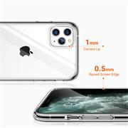 Schutzhülle für Apple iPhone 11 Pro Max Hülle Transparent Slim Cover Clear Case