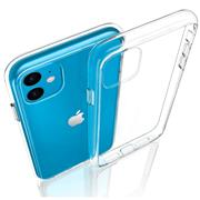 Schutzhülle für Apple iPhone 11 Hülle Transparent Slim Cover Clear Case