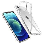 Schutzhülle für Apple iPhone 12 Mini Hülle (5.4 Zoll) Transparent Slim Cover Clear Case