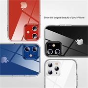 Schutzhülle für Apple iPhone 12 / 12 Pro Hülle (6.1 Zoll) Transparent Slim Cover Clear Case