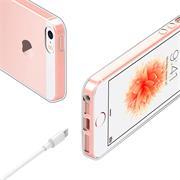 Schutzhülle für Apple iPhone 5 5S SE Hülle Transparent Slim Cover Clear Case