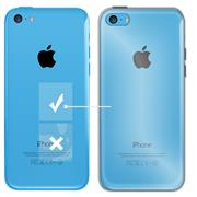 Schutzhülle für Apple iPhone 5C Hülle Transparent Slim Cover Clear Case
