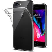Schutzhülle für Apple iPhone 7 Plus 8 Plus Hülle Transparent Slim Cover Clear Case