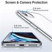 Schutzhülle für Apple iPhone 7 8 SE (2020) Hülle Transparent Slim Cover Clear Case