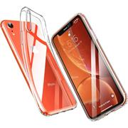 Schutzhülle für Apple iPhone XR Hülle Transparent Slim Cover Clear Case