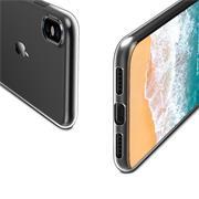 Schutzhülle für Apple iPhone XS Max Hülle Transparent Slim Cover Clear Case