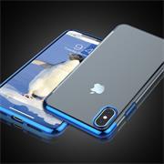 Transparente Silikonhülle für Apple iPhone X / XS Handy Schutz Case