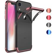 Transparente Silikonhülle für Apple iPhone XR Handy Schutz Case