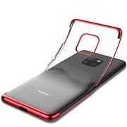 Silikonhülle für Huawei Mate 20 Pro Handy Hülle Tasche Transparent Slim Case