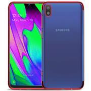 Transparente Silikon Hülle für Samsung Galaxy A10 Handy Schutz Case