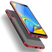 Transparente Silikonhülle für Samsung Galaxy A70 Handy Schutz Case