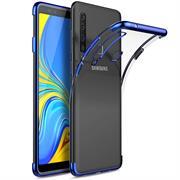 Transparente Silikonhülle für Samsung Galaxy A9 2018 Handy Schutz Case