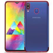 Transparente Silikonhülle für Samsung Galaxy M20 Handy Schutz Case