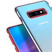 Transparente Silikonhülle für Samsung Galaxy S10 Handy Schutz Case